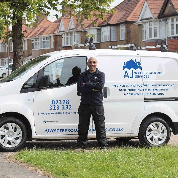 AJ Waterproofing Services founder